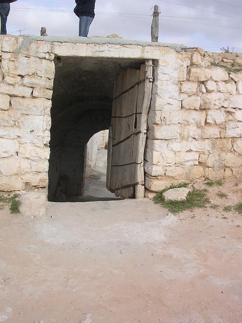 Weg zur Höhlenwohnung