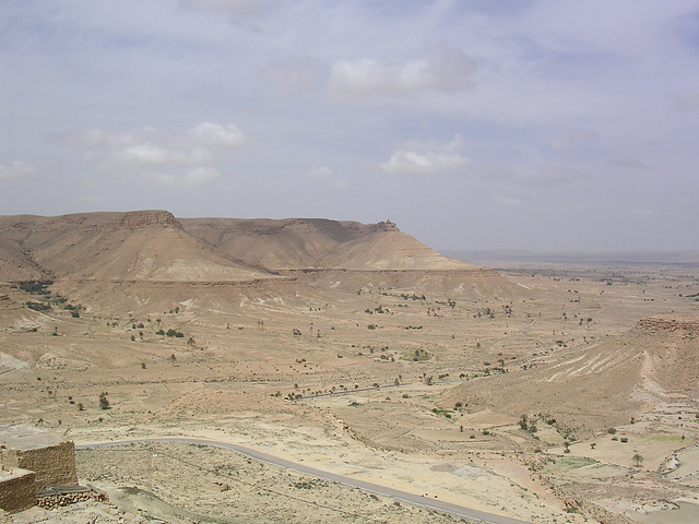 wüste Landschaft