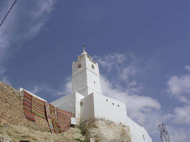 Moschee und Teppichverkauf