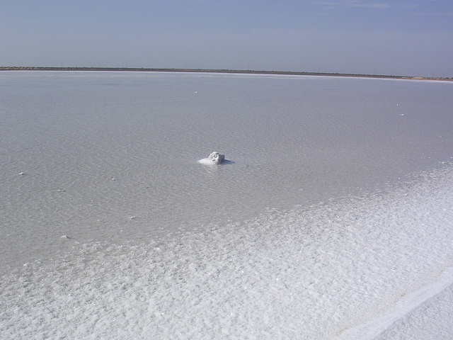 Salz .....kein Eis