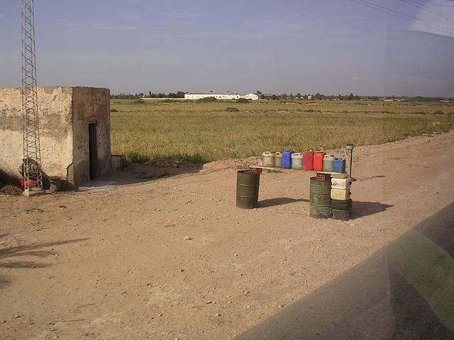 Tankstelle - nahe lybischer Grenze