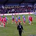 FC Bayern München mit seltsamem Weißabgleich