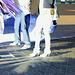 Taxi et talons aiguilles Maghrébins /   Taxi and North Africa stilletos heeled boots-  Ipernity friend's gift  -  Cadeau d'une Amie Ipernity-  Janvier 2009. -  Photofiltrée en effet négatif.