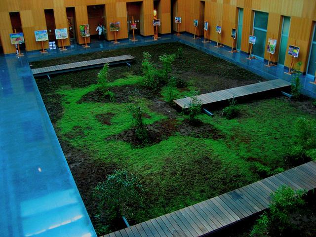 Lisboa, Hospital of Luz, winter garden