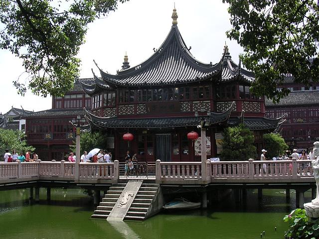 Teehaus in Shanghai