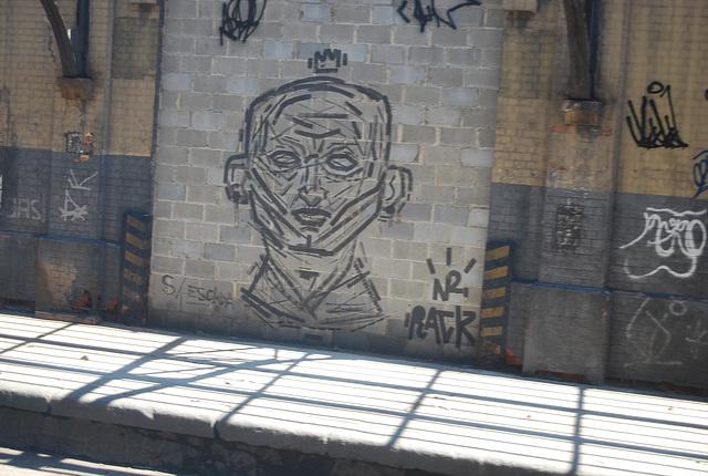 Artiste de la rue à  Rio