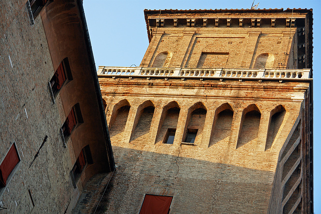 The Este Castle in Ferrara