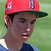 Boston Fan at Hohokam Stadium (9845)