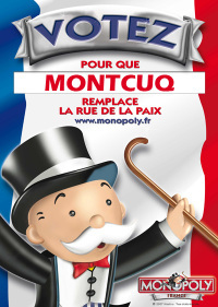 Monopoly France : votez Montcuq !