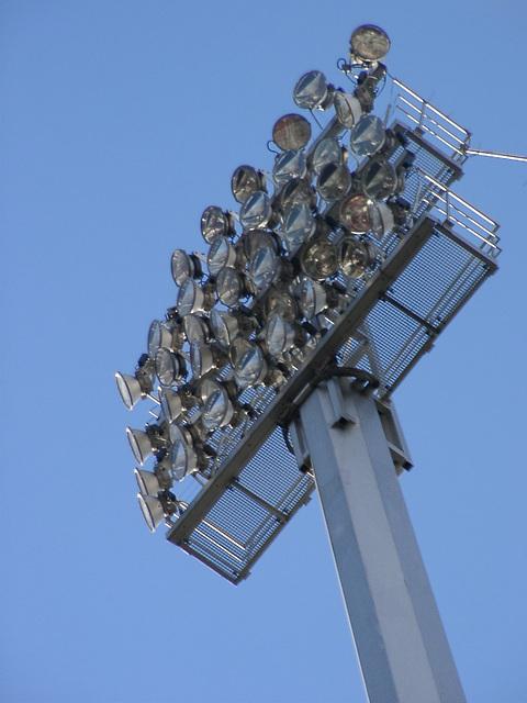 Flutlichtmast Eintracht Braunschweig