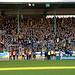 Feiernde Eintracht Braunschweigfans
