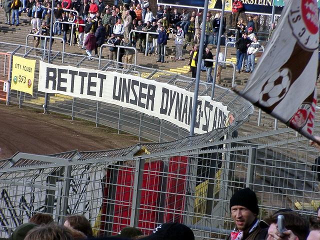 Rettet unser Dynamo-Stadion