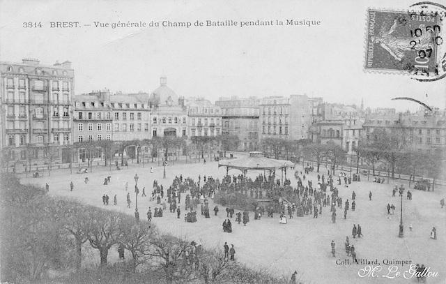 Brest Le champ de bataille