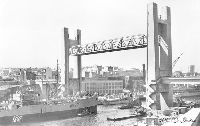 Brest Le Grand Pont levé