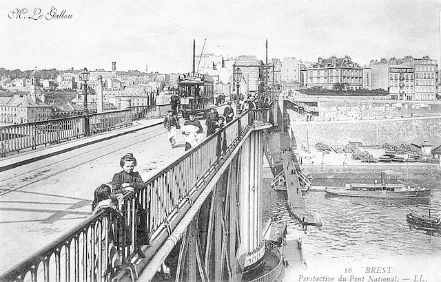 Brest Le pont national 3