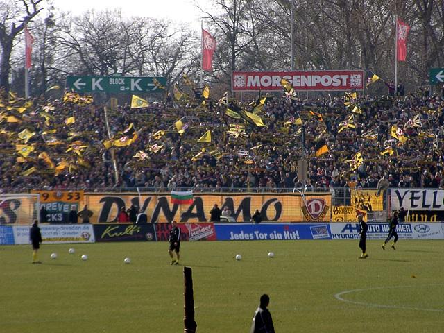 Heimkurve Dynamo Dresden