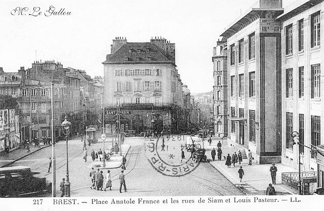 Brest Place Anatole France