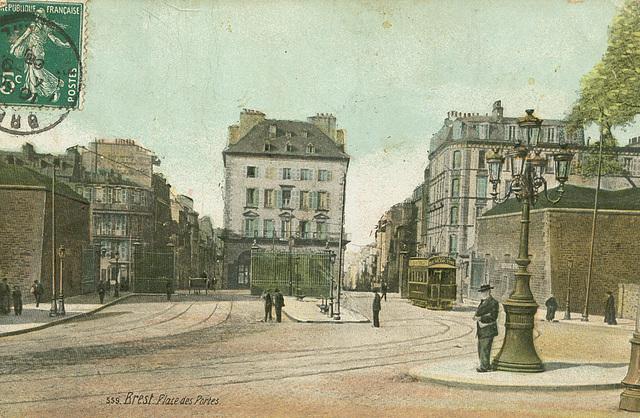 Brest Place des Portes 1
