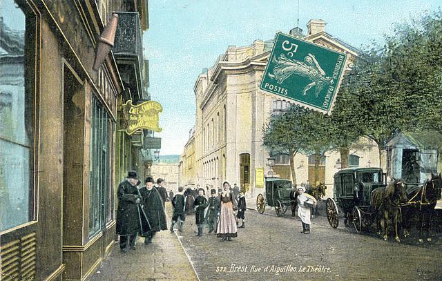 Brest Rue d'Aiguillon