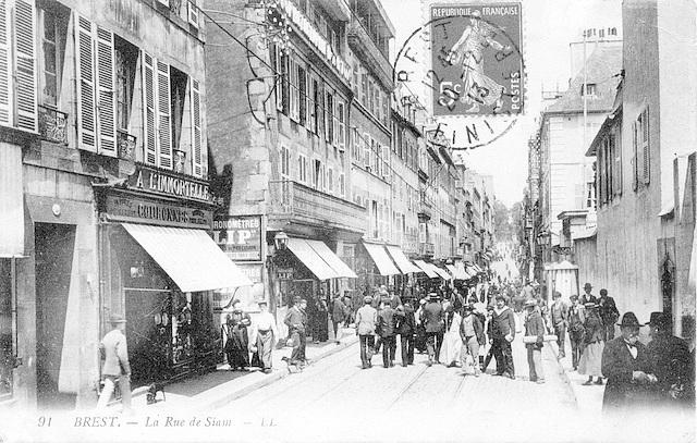 Brest Rue de Siam bas
