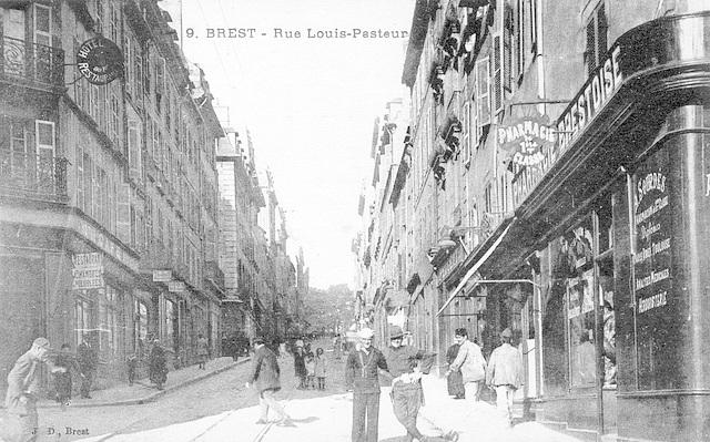 Brest Rue Louis Pasteur 1