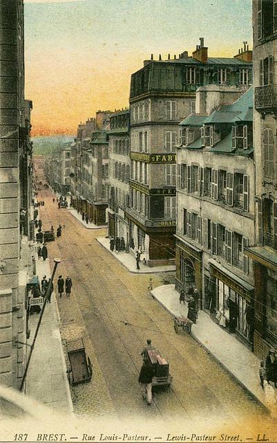 Brest Rue Louis Pasteur couleurs