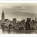 Old New  York Skyline