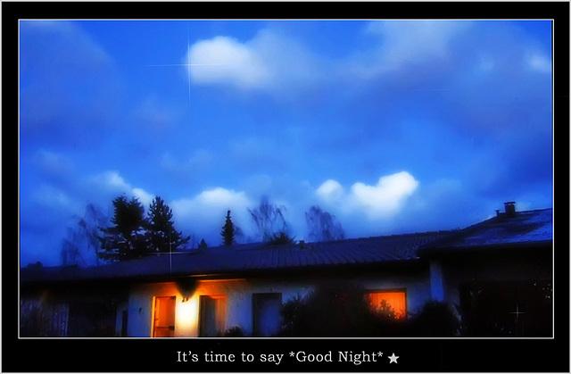 *Good Night*
