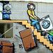 Grafitti eines Umzugsunternehmens