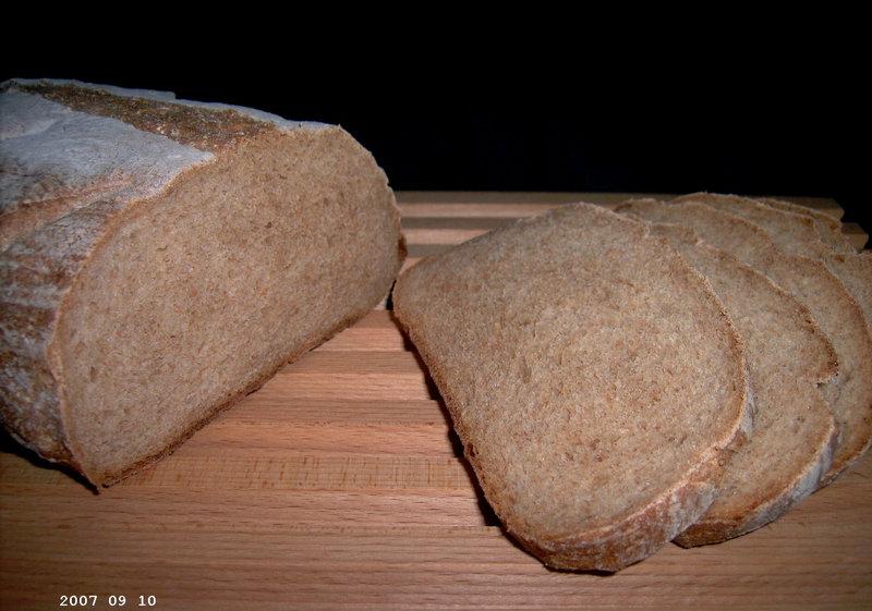 Basic Whole Wheat Bread 2
