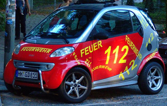 Feuerwehr - Smart (mit Kuhfänger ;)