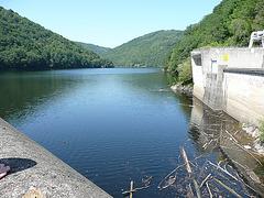 le barrage de chastang