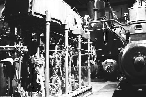 Steam Marine Engine, Technical Museum, Berlin, Germany, 2007