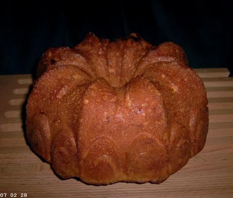 Sour Cream Apricot Coffee Bread 1