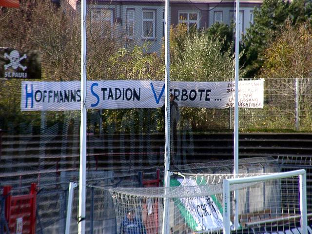 Hoffmanns Stadion Verbote
