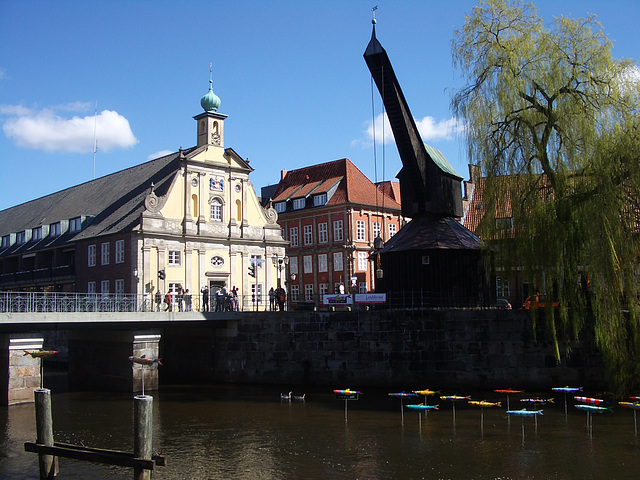 am Stintmarkt in Lüneburg  2007