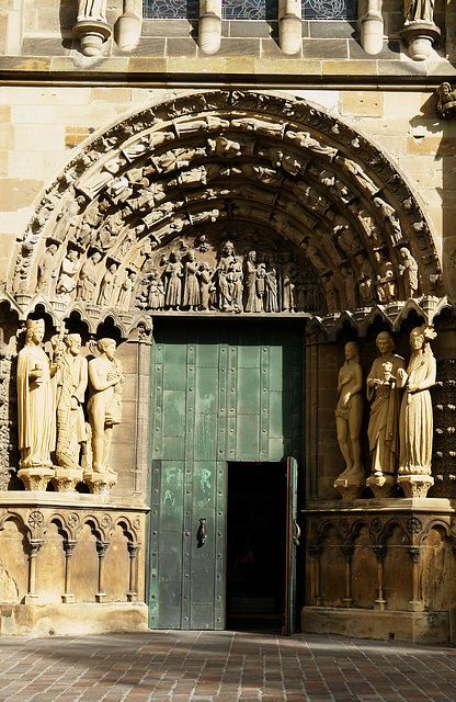Entrance of Trier Cathedral