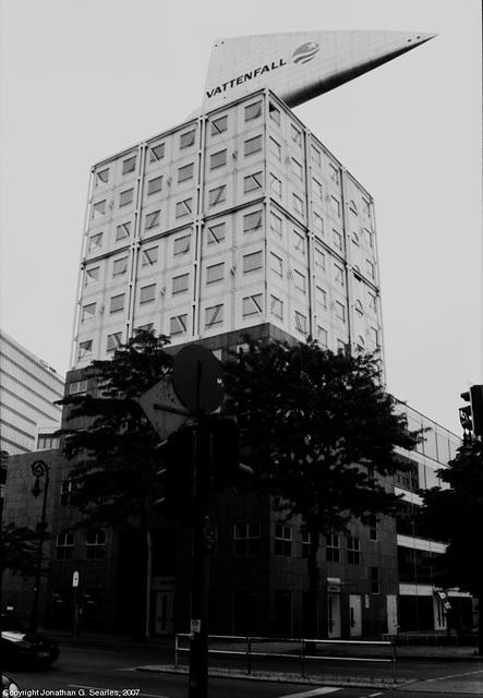 Vattenfall Building, Charlottenburg, Berlin, Germany, 2007