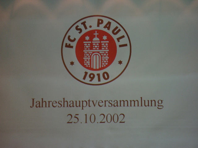2002 Annual general meeting FC St. Pauli