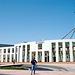 Vor dem Parlament in Canberra