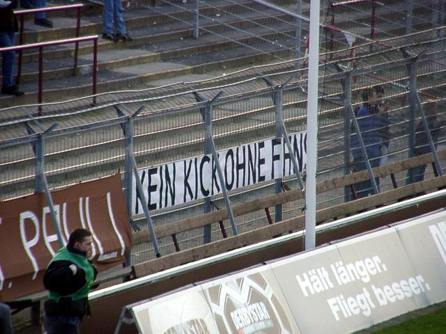 Kein Kick ohne Fans