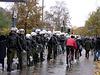 Immernoch völlig schwachsinniger Polizeikessel