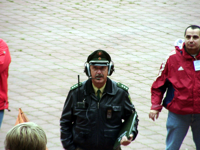 Great headphones, policemen