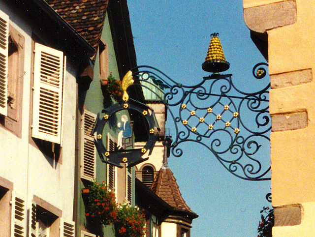 Enseigne à Kaysersberg - 1996