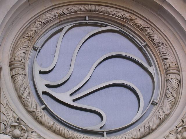 Bankenfenster - mit Sicherheitsgitter?
