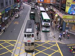 gute alte Straßenbahn