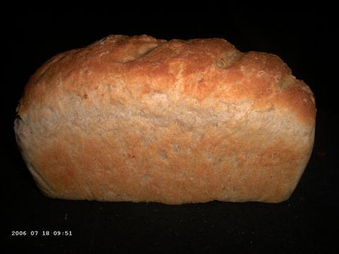 Fluweelzacht bonenbrood