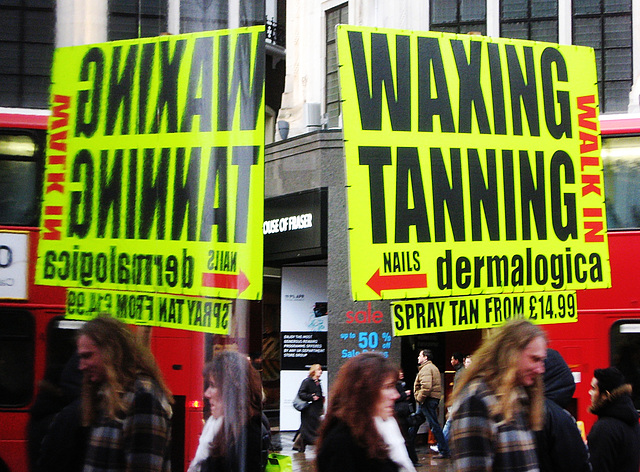 Waxing and tanning