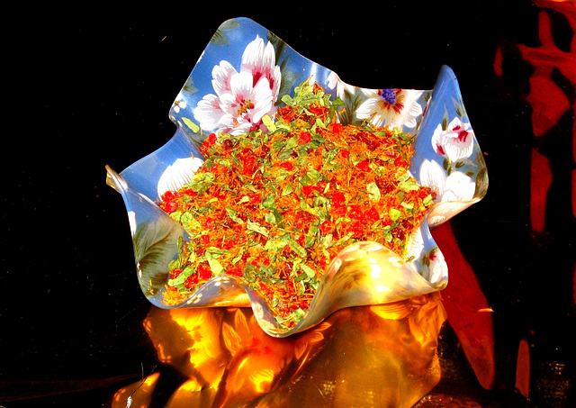 Paan in a bowl.