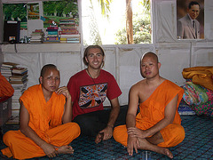 me and the monks,thailand